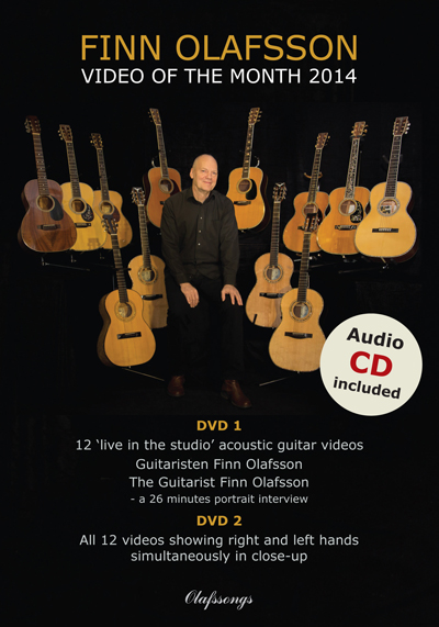 Video of the Month 2014 DVD cover